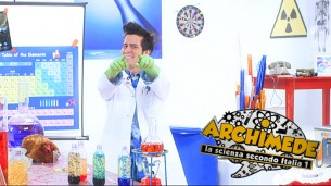 Tv comic show about science